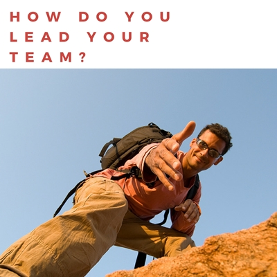 how do you lead your team?