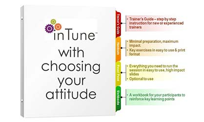 in tune with choosing your attitude