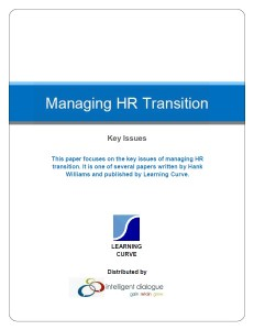 Managing HR Transition Hank Williams