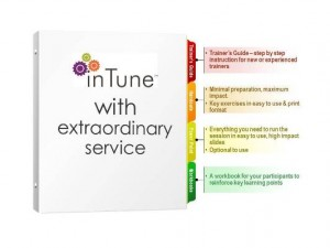 customer service training materials