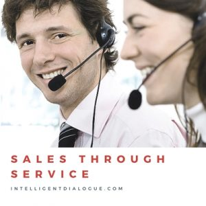 sales through service