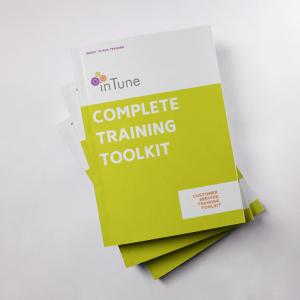customer service training materials