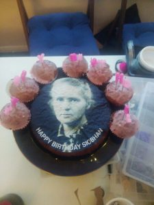 marie curie cake