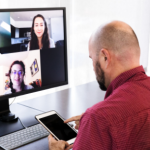 back to back virtual meetings Intelligent Dialogue